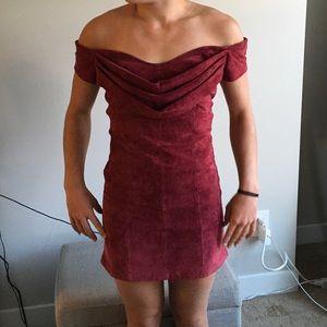 FREE PEOPLE off the shoulder dress